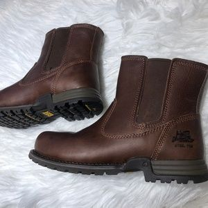 Nwt Cat 8 Work Boots Steel Toe Freedom